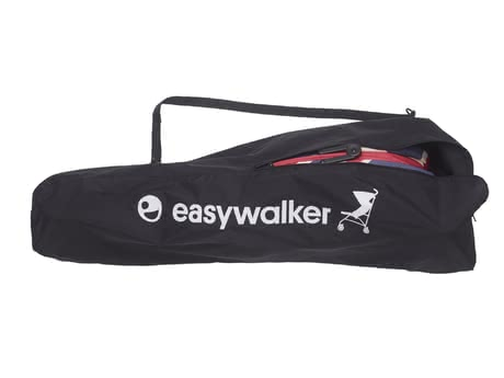 Easywalker Travel Bag -  * This Easywalker Travel Bag in the colour black with a great embroidered emblem makes transporting and storing your buggy super easy. Once the collapsed Easywalker buggy is stored in this bag the shoulder strap helps you to carry it easily over your shoulder.