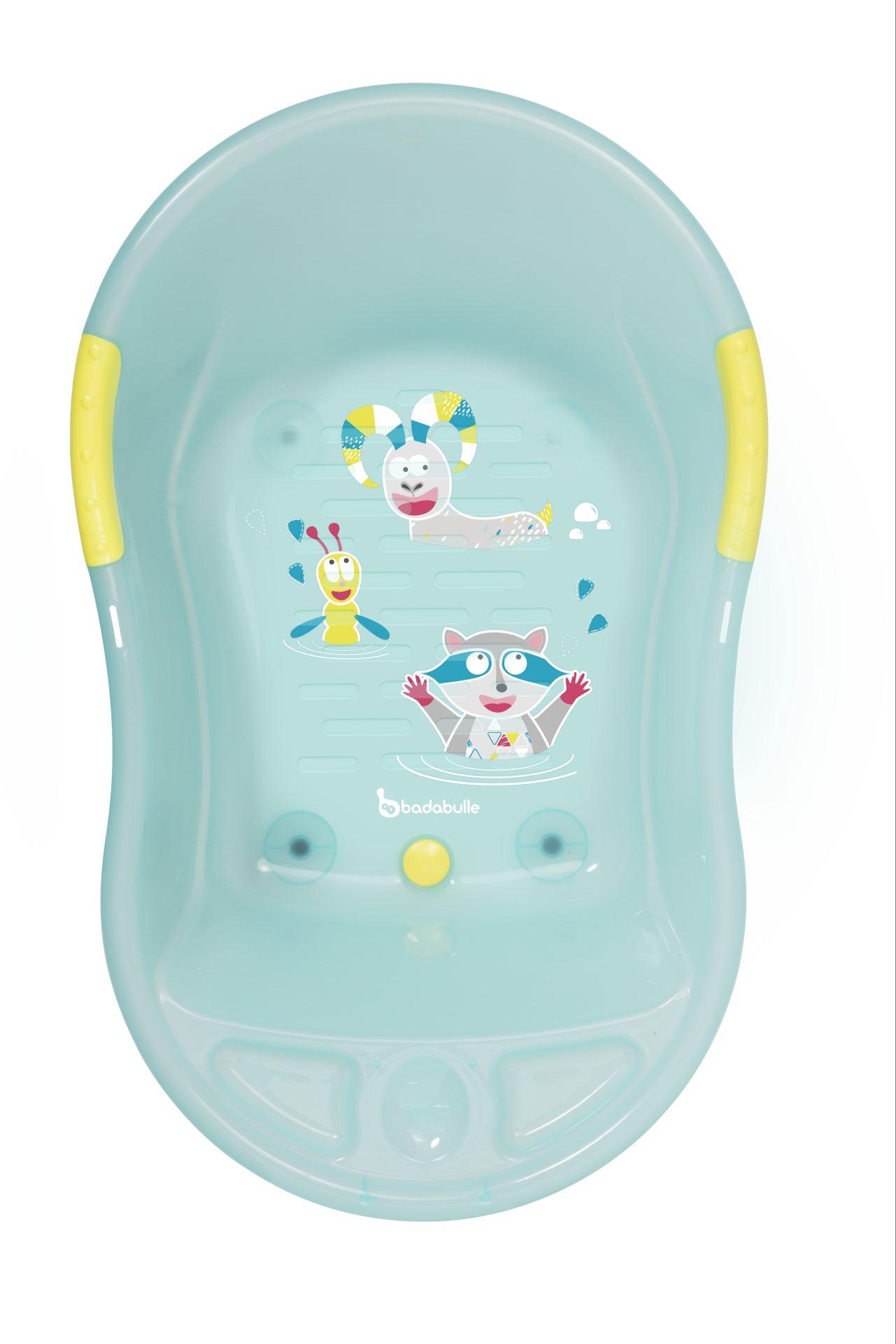 "Badabulle Baby Bath Tub ""Mountain Animals"", Blue - Buy at kidsroom ..."