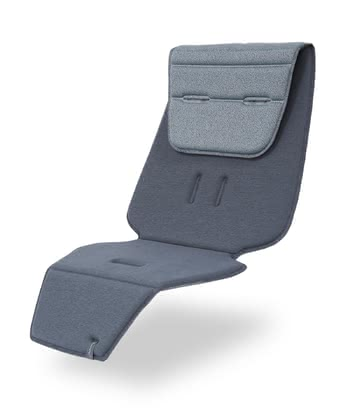 Quinny Seat Liner -  * This pad offers a special comfort for your little passenger! It provides a comfortable and supporting seating position. It makes the area to sit a bit slimmer and can individually be adapted to the height of your child. The great turning option makes for variety. Another colour – new look, an essential colourful accessory for your Quinny Zapp.