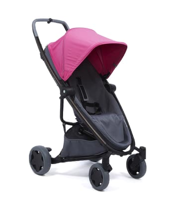 Quinny Buggy Zapp Flex Plus Pink on Graphite 2020 - large image