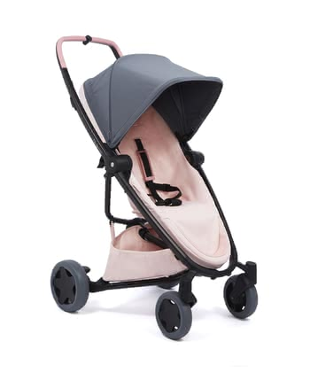 Quinny Buggy Zapp Flex Plus Graphite on Blush 2020 - large image