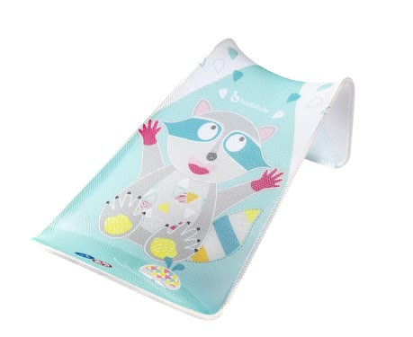 "Badabulle Bath Support ""Racoon"" -  * Badabulle's bath support ""Racoon"" turns bathing into the most comfortable and relaxing thing for your little one."