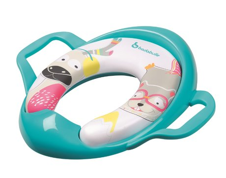 "Badabulle Lavatory Seat ""Mountains Animals"" -  * Badabulle's lavatory seat ""Mountain Animals"" comes with two practical handles that supply your little one with extra support while weaning him or her off the nappies."