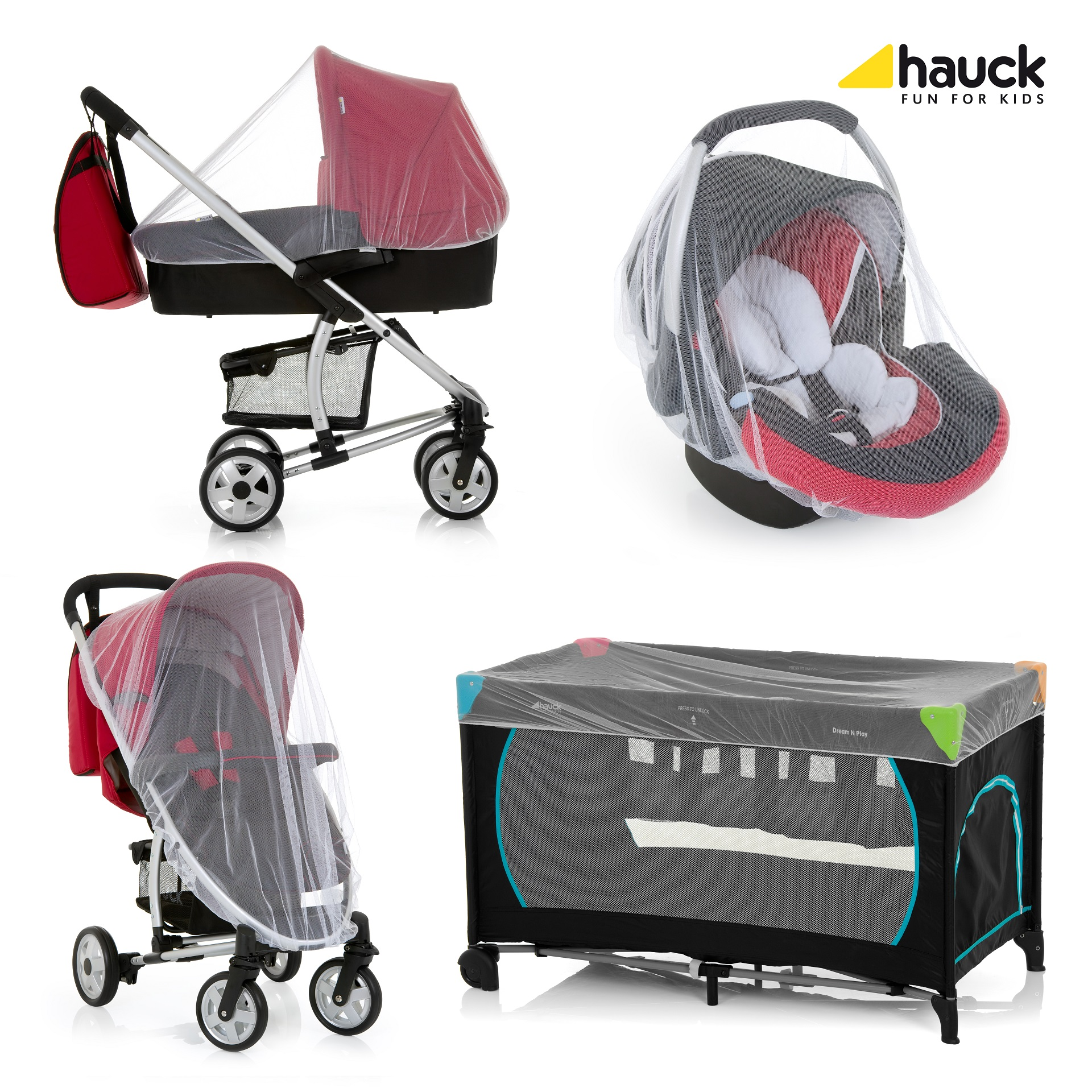 Hauck Mosquito Net Protect Me Buy At Kidsroom