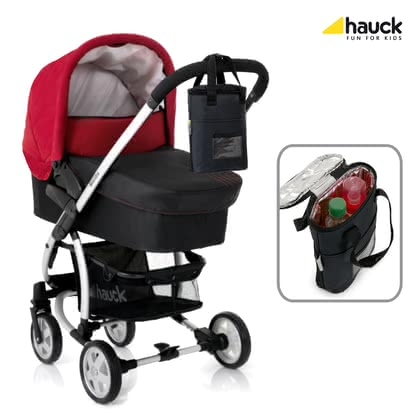 "Hauck Insulating Bottle Bag Duo ""Refresh Me 2"" -  * The perfect accessory for families with twins or siblings: Due to its double insulation the Hauck Insulating Bottle Bag ""Refresh Me"" keeps the contents of baby's bottle cool or warm for a longer time – even in extreme temperatures."