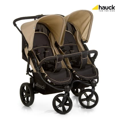 Hauck Roadster Duo SLX -  * Twice the luck, twice the safety, twice the comfort and twice the fun – all this is offered by the Hauck Roadster Duo SLX.