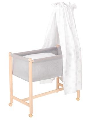 "Geuther Bassinet Jasmin -  * Geuther's bassinet ""Jasmin"" comes with a new extraordinary design that will instantly delight you and your little one."