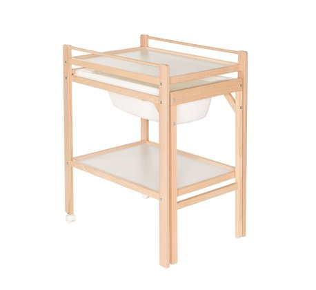 "Geuther Changing Unit with Bath Emma -  * Geuther's changing unit with bath ""Emma"" is a super-practical and space-saving companion that will make your life with a tiny human a lot more organised."