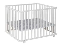Geuther Playpen Ameli, White -  * A great companion that helps your ease everyday life is the new playpen by Ameli von Geuther. Along with the floor it can be collapsed into a small size in no time at all.