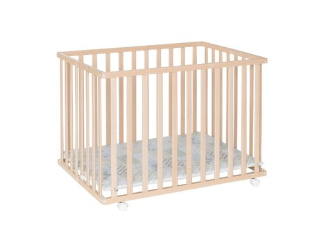Geuther Playpen Leela, 76 x 102,5 cm -  * The playpen Leela by Geuther is the space-saving version of a standard playpen.