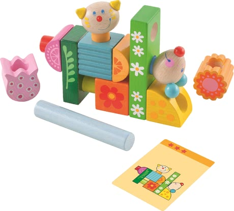 "Haba Stacking Game ""Cat and Mouse"" -  * Haba's stacking game ""Cat and Mouse"" brings ultimate fun into your child's nursery."
