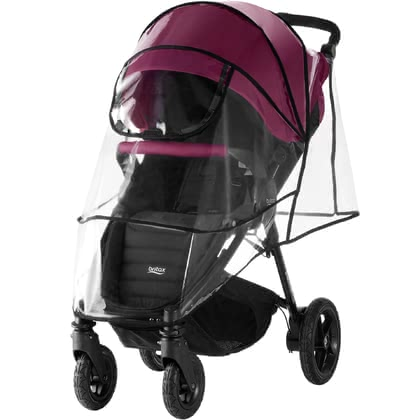 Britax Römer Rain Cover for the Stroller B-Motion 4 Plus -  * The Britax Römer rain cover for the stroller B-Motion 4 Plus protects your little one from rain, snow and wind.