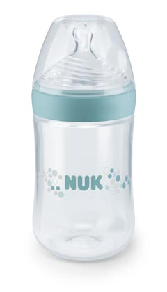 NUK Nature Sense Baby Bottle 260 ml -  * NUK has set itself the task of getting even closer to nature and so they have developed the new NUK Nature Sense Baby Bottle.