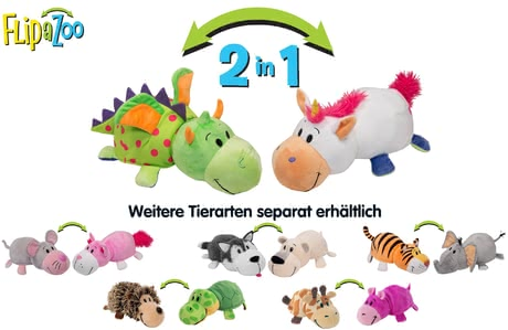 "Flip a Zoo 2 in 1 Stuffed Animals ""Little FlipZees"" - Get the funny and most popular stuffed animals by Flip a Zoo in a special mini size!"