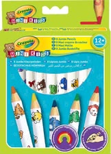 Crayola Jumbo Pencils -  * Specifically designed for your little artist's first attempts at drawing.
