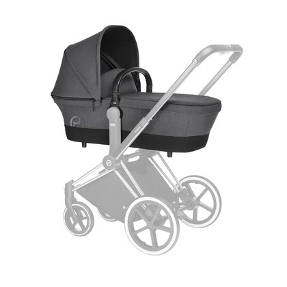 Cybex PRIAM Carrycot Manhattan Grey_mid grey 2018 - large image