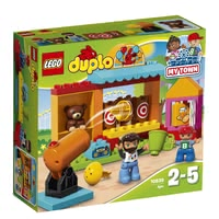 LEGO Duplo Shooting Gallery -  * Aim your target – ready – go! Your little discoverer will be absolutely delighted to fire the cannon at the three targets again and again.