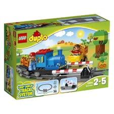 LEGO Duplo push train -  * Everybody get in, please! The LEGO push train is perfectly suitable for children's hands and guarantees an age-appropriated way of playing.