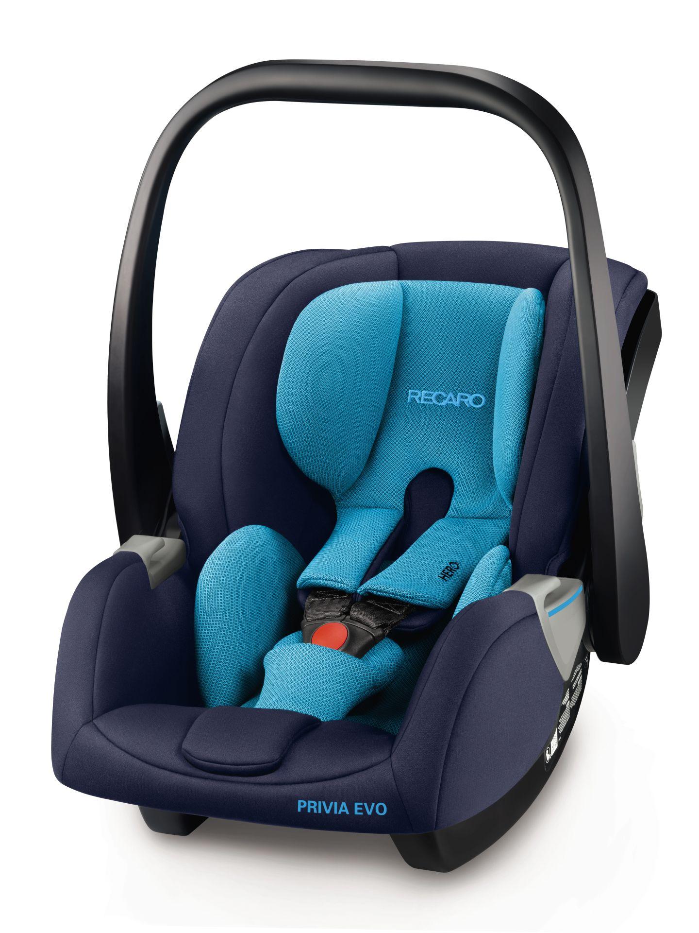 Recaro Infant Car Seat Privia Evo Performance Black 2018