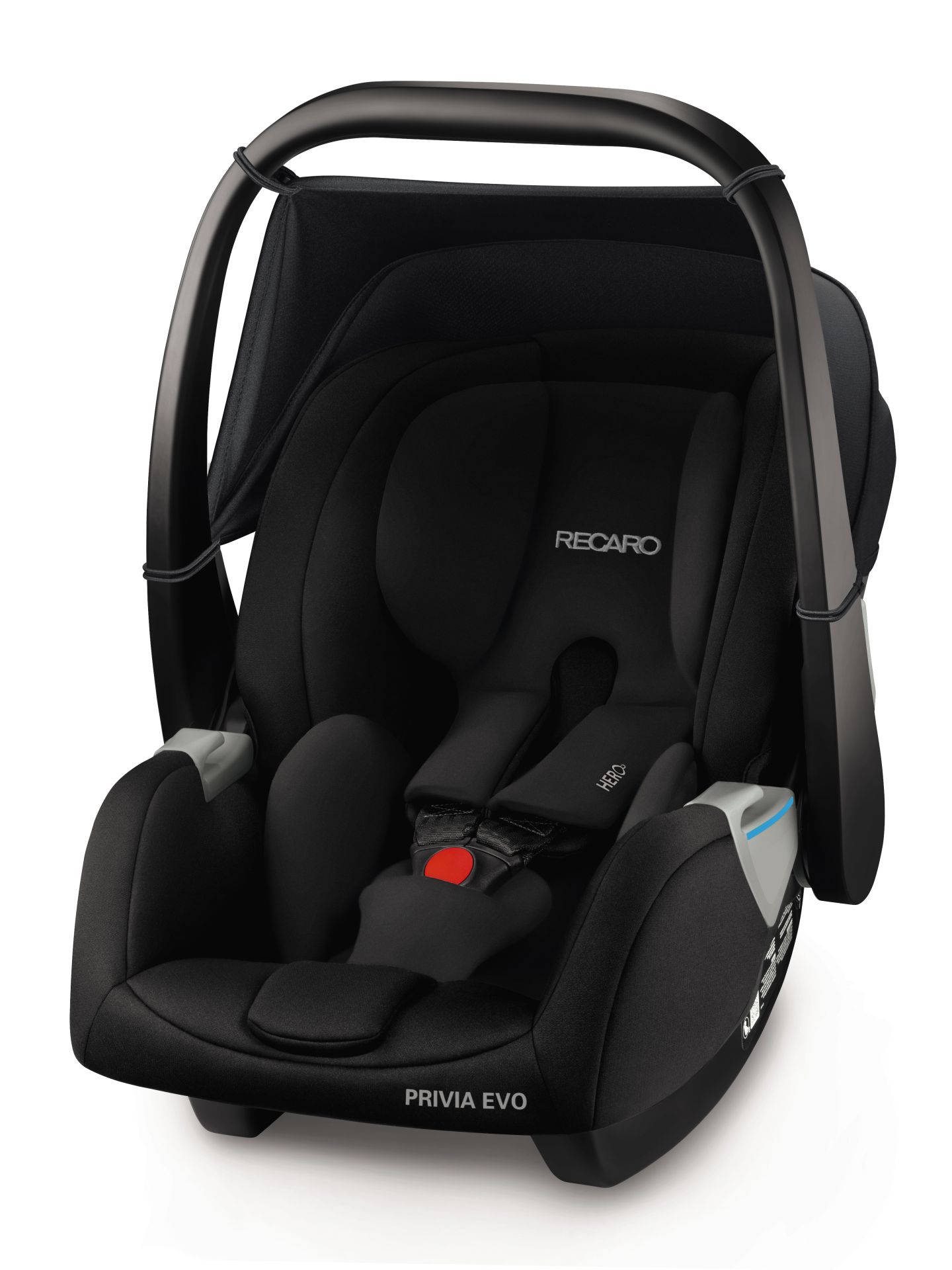 Recaro Infant Car Seat Privia Evo Performance Black 2018