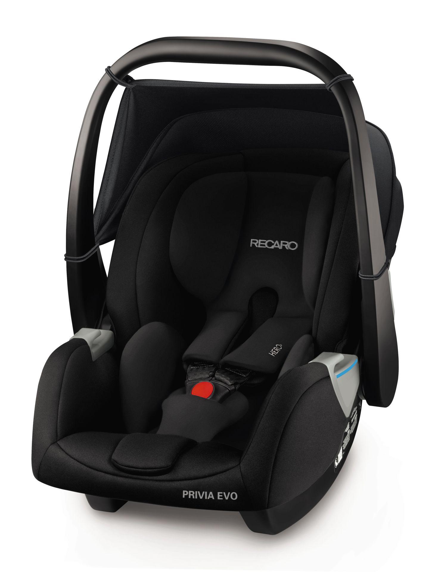 recaro infant car seat privio evo 2018 performance black buy at kidsroom car seats. Black Bedroom Furniture Sets. Home Design Ideas