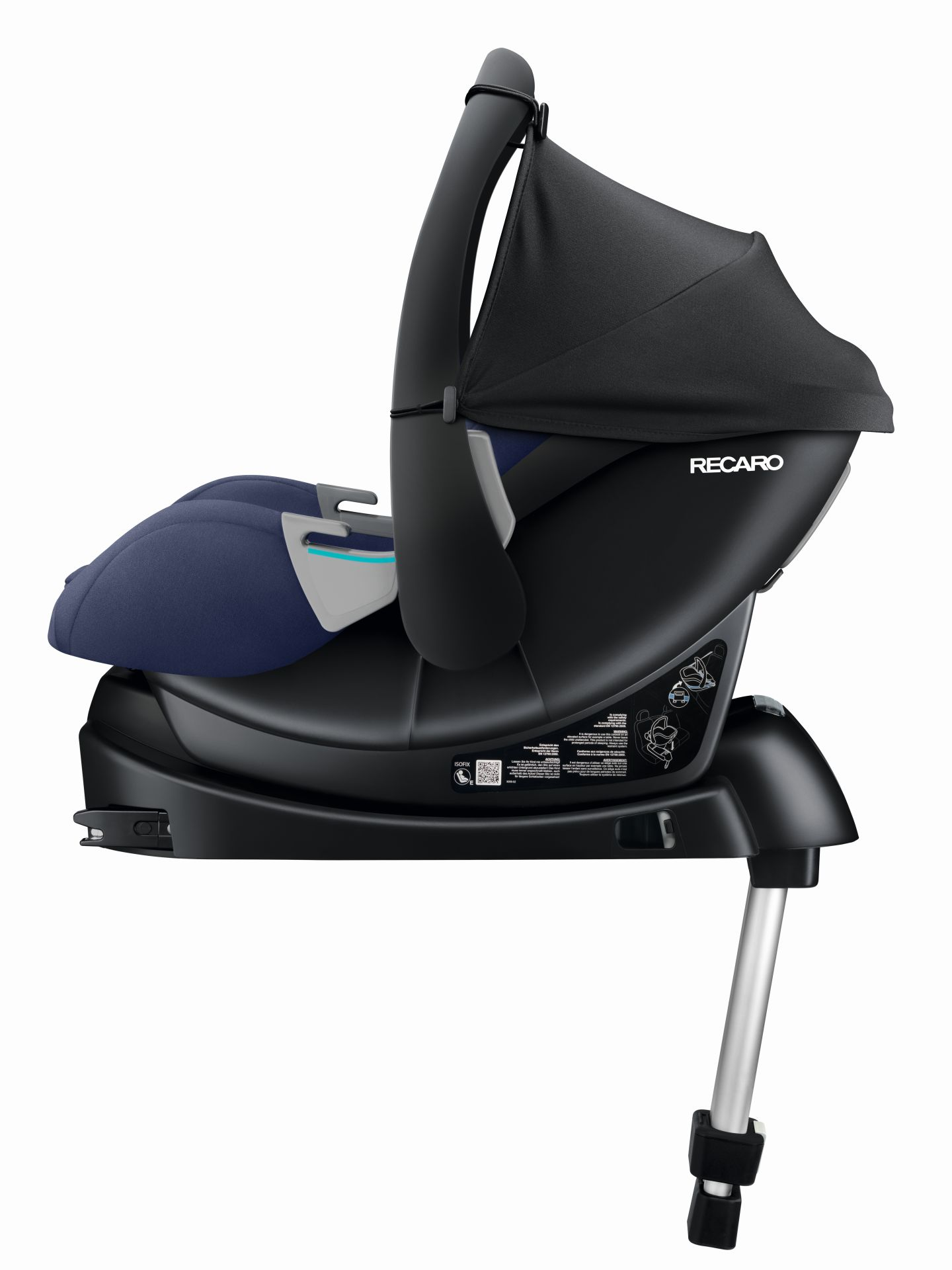 recaro isofix base smartclick basis 2018 buy at kidsroom. Black Bedroom Furniture Sets. Home Design Ideas