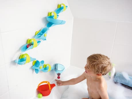 Haba Ball Path Bath Fun – Big Water Labyrinth -  * This extra-large water course is the perfect bathtub toy for little adventurers.