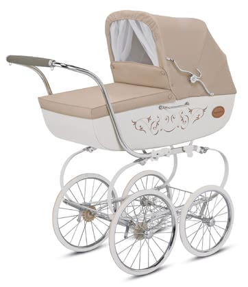 "Inglesina Stroller Classica – Collection ""Blue Label"" Beige 2017 - large image"