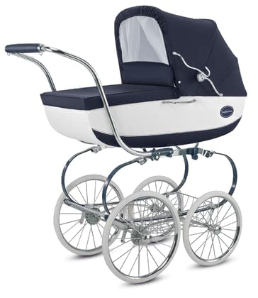 "Inglesina Stroller Classica – Collection ""Blue Label"" Bianco Blue 2020 - large image"
