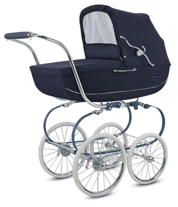 "Inglesina Stroller Classica – Collection ""Blue Label"" -  * Everyone will keep this stroller in mind – the Inglesina Classica is a dream come true for all parents who like it chic, elegant and unique!"