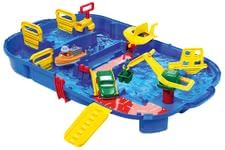 AQUAPLAY Water Ride Lock Box -  * AQUAPLAY's Lock Box that features a funny water ride with harbour basin and floodgate, is perfect for children who are fascinated by water and want to learn more about its characteristics.