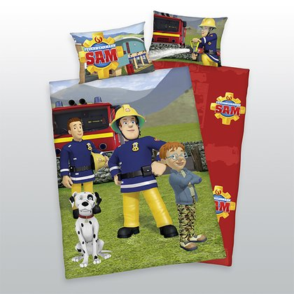 Herding Bedding Fireman Sam -  * With Herding's bedding Fireman Sam your little one's exciting adventures will continue in his bed.