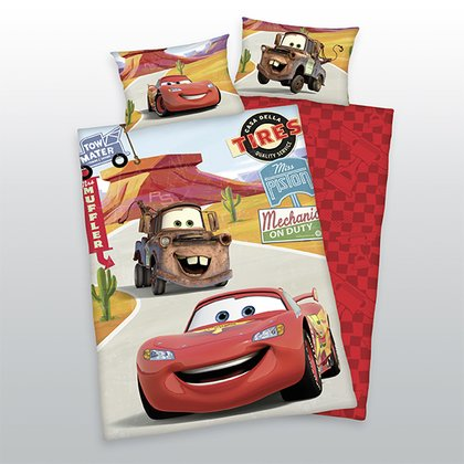 Herding Bedding Disney Pixar Cars -  * With Herding's bedding Disney Pixar Cars your little one can recharge his batteries for new races and adventures!