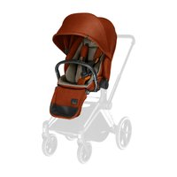 Cybex Platinum PRIAM Lux Seat -  * The reversible seat unit can be attached to the classic PRIAM frame in either a forward facing or rear facing mode. Your tiny human will enjoy every ride on the cosy and super comfy cover.