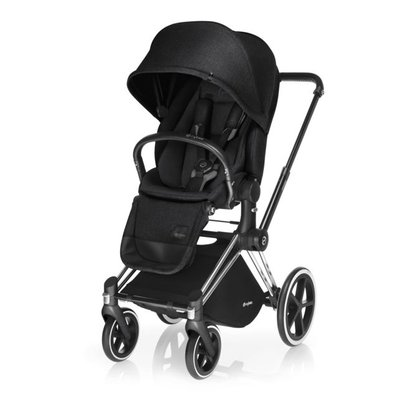 Cybex Platinum stroller PRIAM incl. Lux Seat -  * The elegant frame of the Cybex stroller PRIAM is a multi-functional treat for everyone who is off for an adventure.