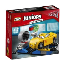 LEGO Duplo Juniors Cruz Ramirez Race Simulator -  * The race simulator will help Cruz Ramirez become unbeatable. The ramp folds out so that Cruz can get into the race simulator.