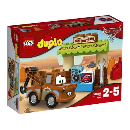 LEGO Duplo Mater's Shed -  * Mater the cheerful tow truck from Disney Pixar Cars 3 will bring ultimate fun into your little one's nursery.
