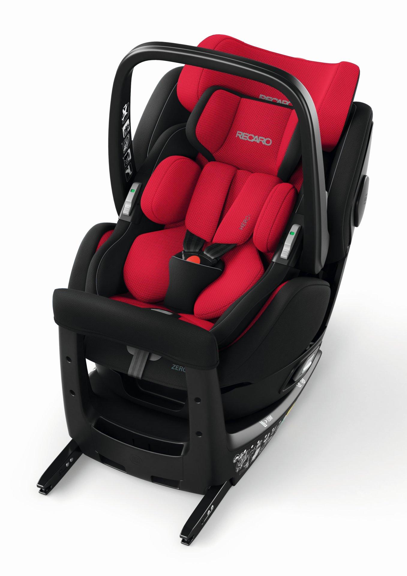 recaro zero 1 elite i size 2019 racing red buy at kidsroom car seats. Black Bedroom Furniture Sets. Home Design Ideas