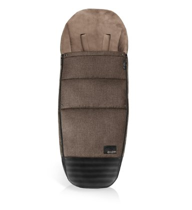 Cybex PLATINUM foot muff -  * This chic and trendy foot muff makes your PRIAM complete and protects your little one in wind and rain while being out and about on strolls through the cold.