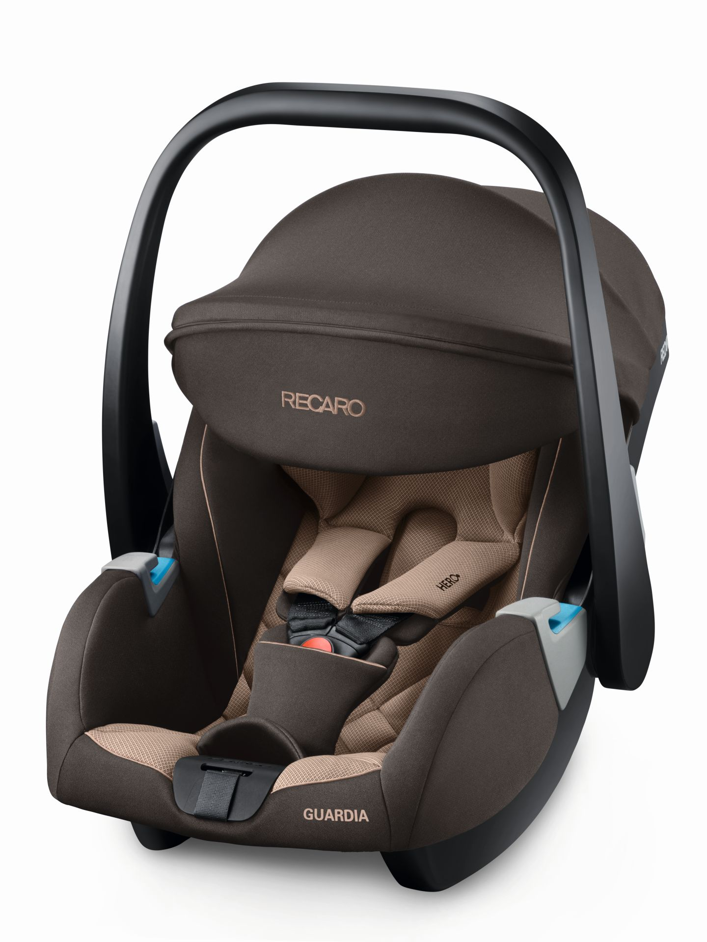 Recaro Infant Car Seat Guardia Including SmartClick Base Dakar Sand 2018