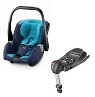 Recaro Infant Car Seat Guardia including SmartClick Base -  * The Recaro infant carrier Guardia combines clever features, easy handling and a beautiful design. Excellent safety and comfort in everyday life ensures the in delivery included Recaro SmartClick Base.
