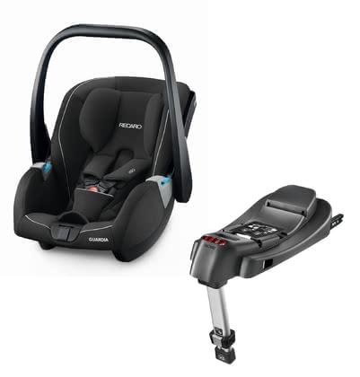 Recaro Infant Car Seat Guardia Including SmartClick Base