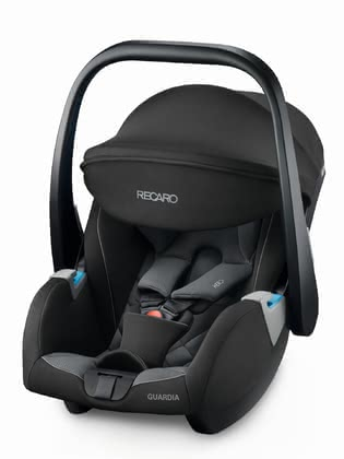 Recaro Infant Car Seat Guardia -  * Be comfortable and well protected on the way right from the beginning with the Guardia infant carrier. Well thought out functions and color-contrasting controls make the handling particularly safe and effortless.