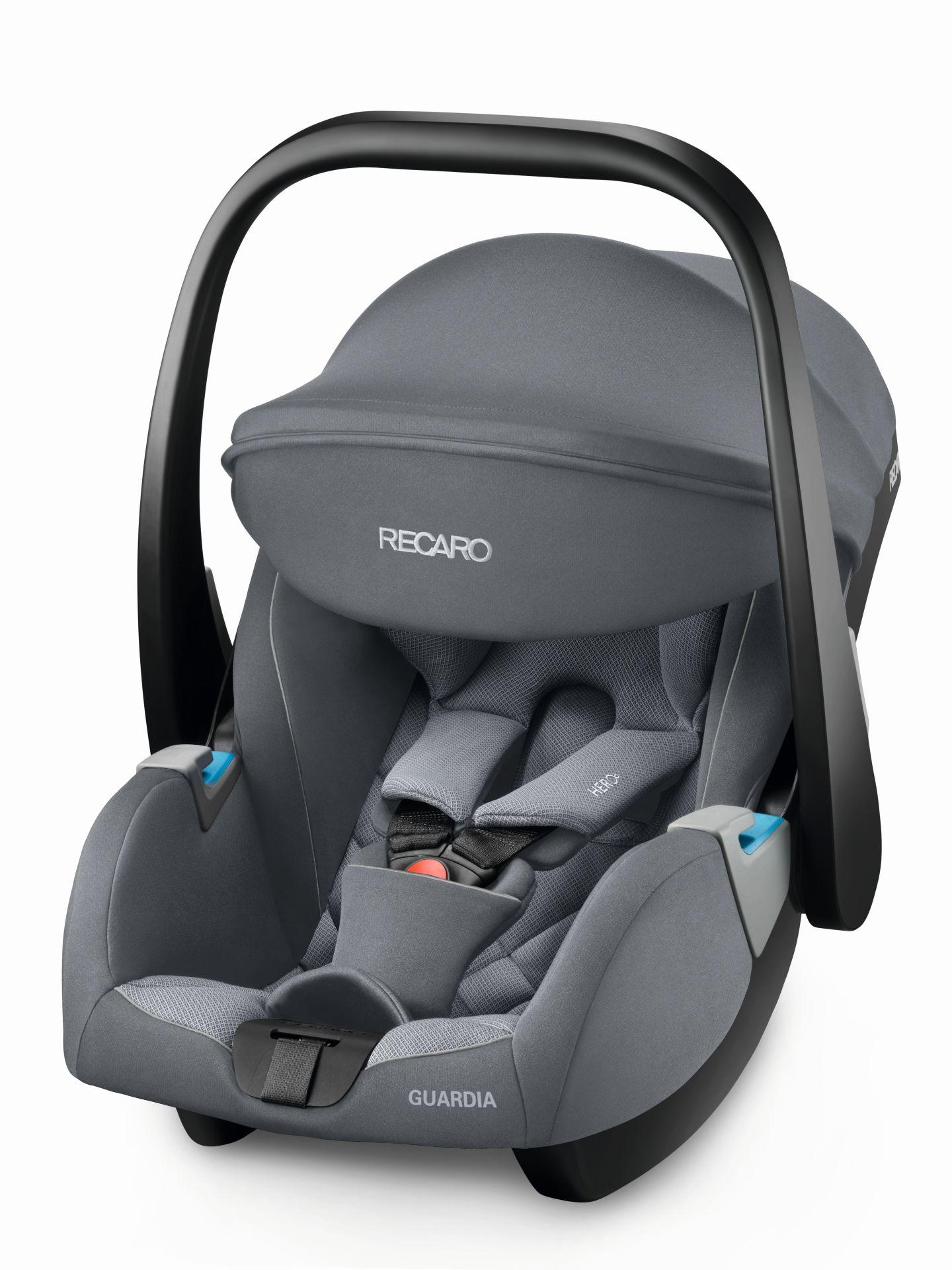 Recaro Infant Car Seat Guardia 2019 Aluminium Grey Buy At Kidsroom Car Seats
