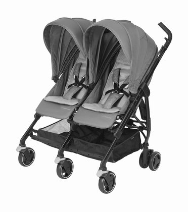 Maxi-Cosi Buggy Dana For2 -  * Discovering the world together – the Maxi-Cosi Buggy Dana For2 joins in for every adventure. Twins as well as siblings can snuggle up and relax side by side. The buggy fits through any standard sized doorway and is super easy to manoeuvre.