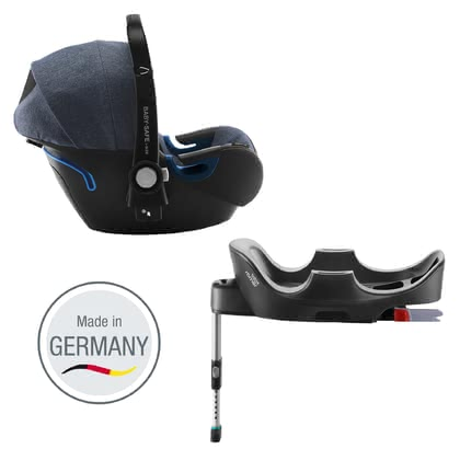 Britax Römer Infant Car Seat Baby Safe 2 i-Size including i-Size Base Blue Marble 2019 - large image