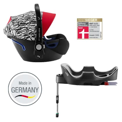 Britax Römer Infant Car Seat Baby Safe 2 i-Size including i-Size Base Letter Design 2019 - large image