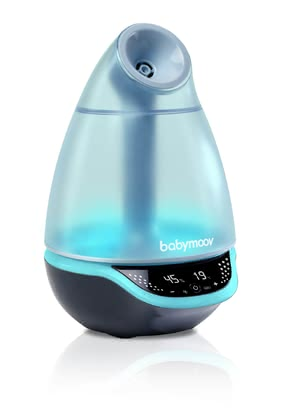 Babymoov Hygro+ Baby Humidifier -  * Babymoov's Hygro+ baby humidifier does not only supply your child with healthy air in the nursery, but also works as a multi-coloured nightlight and is equipped with a nebuliser for essential oils.