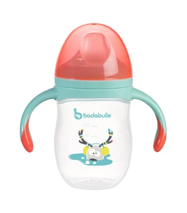 Badabulle Leak-Proof Trainer Cup -  * The Badabulle trainer cup helps your child to learn how to drink independently from a cup.