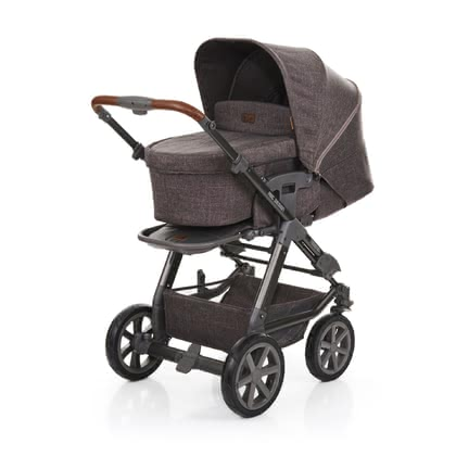 ABC-Design Multi-Functional Stroller Tereno 4 -  * As a new member of the ABC-Design family, the multi-functional stroller Tereno 4 delights all nature loving families. Equipped with large air filled wheels this tough all-round stroller masters any terrain easily.